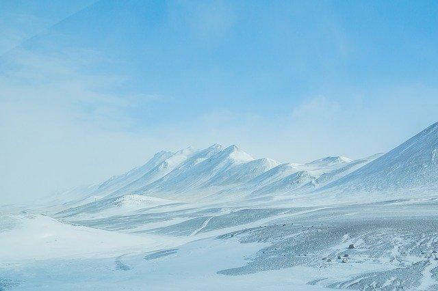 大陸氷河と山岳氷河