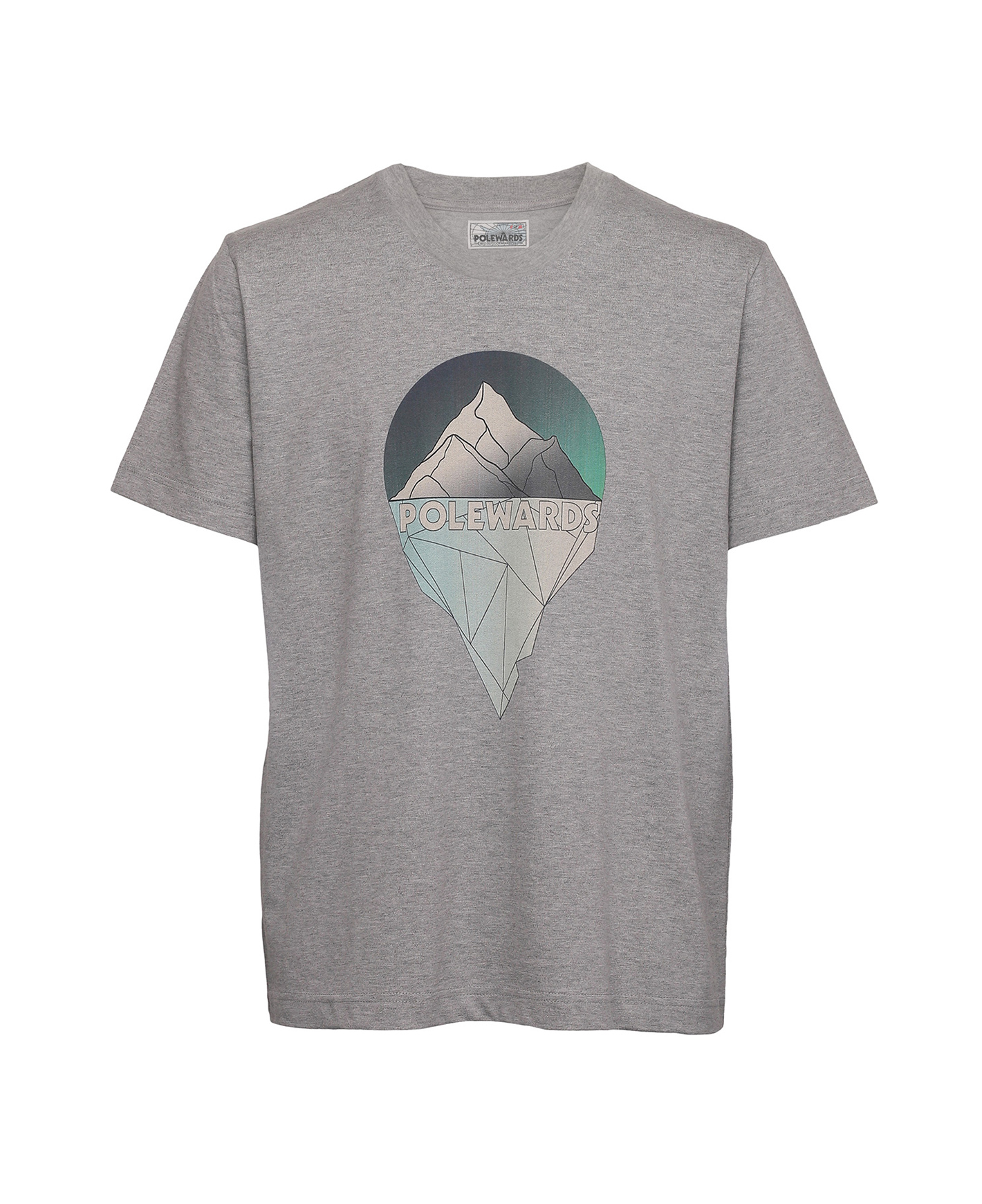Heritage Printed T-shirt / Glacier